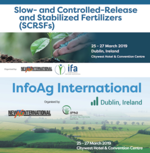 Fertilizzanti e agricoltura di precisione, appuntamento a Dublino - le news di Fertilgest sui fertilizzanti