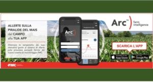 Arc<sup>™</sup> farm intelligence: la app di FMC a difesa del mais