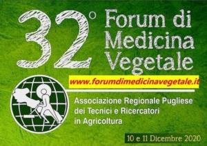Forum di medicina vegetale: le relazioni 2020