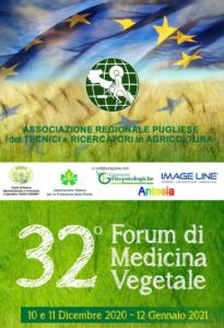 Forum di medicina vegetale, la 32<sup>°</sup> edizione è digitale