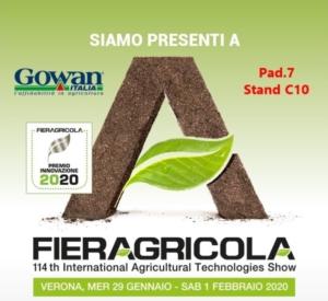 Gowan a Fieragricola 2020, Mago vince il premio innovazione