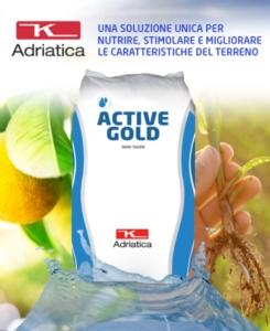 Linea Active Gold, una delle novità del catalogo 2020 di K-Adriatica - le news di Fertilgest sui fertilizzanti