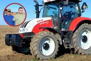 """Uno Steyr unico per un agricoltore """"speciale"""""""