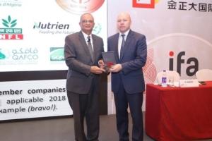 EuroChem riceve la medaglia d'oro da parte di IFA - le news di Fertilgest sui fertilizzanti