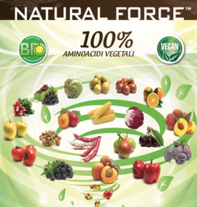 Natural Force: pura energia da amminoacidi vegetali - Fertilgest News