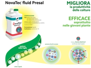 Contro l'eccessiva salinit&agrave; c'&egrave; NovaTec<sup>&reg;</sup> fluid Presal - Fertilgest News