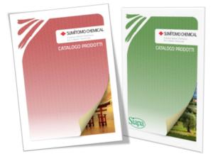 Disponibili i nuovi cataloghi Biorazionali<sup>® </sup>Sumitomo Chemical Italia e Siapa