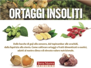 Ortaggi insoliti, un manuale per un orto diverso e biodiverso - Plantgest news sulle varietà di piante