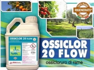 Ossiclor 20 Flow, il fungicida a base di ossicloruro di rame
