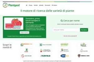 Ortofrutta sul web, ecco il nuovo Plantgest - Plantgest news sulle varietà di piante