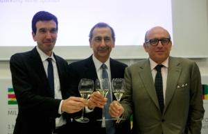 presentazione-accordo-expo-franciacorta-26gen15-ministro-maurizio-martina-ad-expo-giuseppe-sala-presidente-consorzio-maurizio-zanella