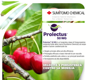 Il prodotto efficace per la difesa delle drupacee