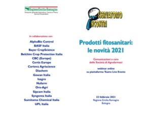 Prodotti fitosanitari: molte le novità, ma online
