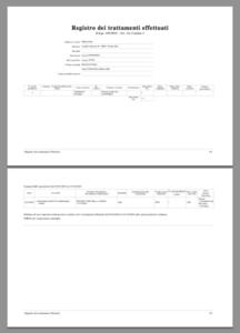 Quando compilare il registro dei trattamenti?