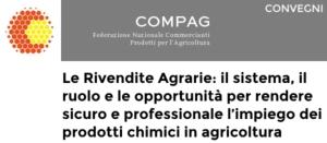 Le Rivendite agrarie: il sistema, il ruolo e le opportunità dei prodotti chimici in agricoltura
