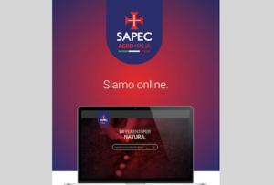 Sapec si rinnova anche sul web
