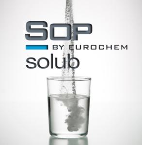 SOP solub, potassio idrosolubile purissimo per la massima qualità delle produzioni