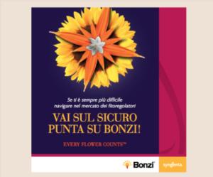 Bonzi: lo specialista in floricoltura