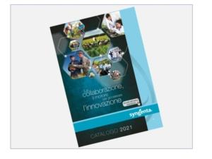 Catalogo Syngenta 2021: solide basi per crescere più in fretta