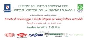 Tecniche di monitoraggio e di lotta integrata per un'agricoltura sostenibile