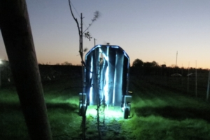 Viticoltura, un robot mette ko oidio e peronospora