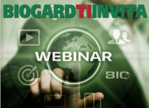 Sostenibilità e difesa delle colture, un ciclo di webinar targati Biogard