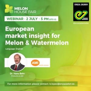 EVENTO ONLINE - Melone e anguria: approfondimenti sul mercato europeo - Plantgest news sulle varietà di piante